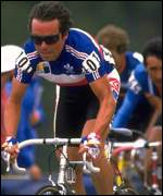 Bernard Hinault in French national jersey