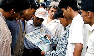 Newspaper readers