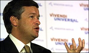 Vivendi chief executive Jean-Marie Messier