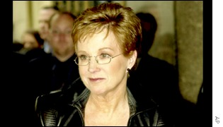 Anne Robinson at Radio City Music Hall, New York
