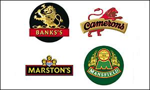 Wolverhampton & Dudley Breweries beer brands