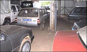Full garage in Bangui