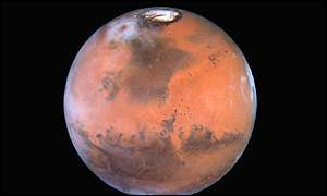 Mars, as seen by the Hubble Space Telescope