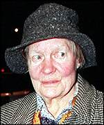 Dame Iris Murdoch, who died from Alzheimer's
