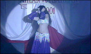 Belly dancer, Cairo festival
