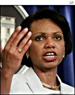 National Security Advisor Condoleezza Rice