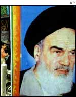 The late Ayatollah Khomeini
