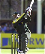 Inzamam-ul-Haq impressing at the crease
