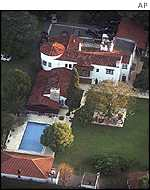 Country house in Don Torcuato where Menem is under house arrest