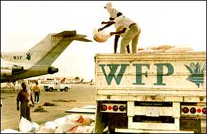 wfp flights