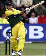 Ricky Ponting pulls another four