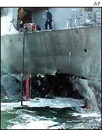 US destroyer USS Cole