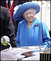 The Queen Mother at the Derby