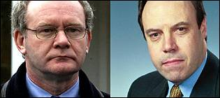 Martin McGuinness and Nigel Dodds speak to David Frost