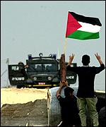 A confrontation in Gaza