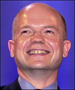William Hague shows off the kind of smile many want