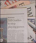 David Clark's Guardian article