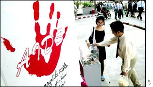 Campaign to stop Aids in Thailand