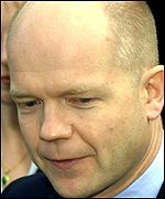 William Hague, leader of the conservative party
