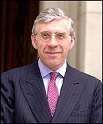 Jack Straw, the new foreign secretary