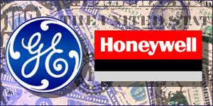 Honeywell/General Electric merger graphic