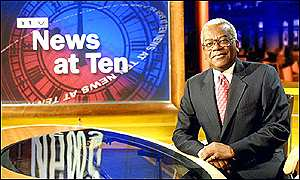 ITN news reader Trevor McDonald