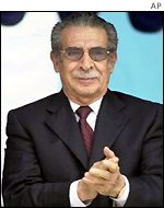 Efrain Rios Montt, former president of Guatemala