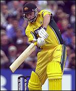 Steve Waugh scored an excellent 64 for Australia