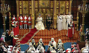 Queen in the Lords