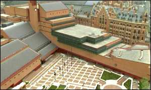 New British Library building