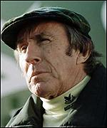 Jackie Stewart looks in reflective mood