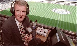 Motson has commentated on football for more than 30 years