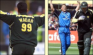 Gough overtook Ian Botham's record of 145 wickets by dismissing Saeed Anwar and Shahid Afridi