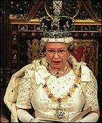 The Queen delivers the government-written speech