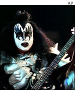 Kiss lead singer Gene Simmons