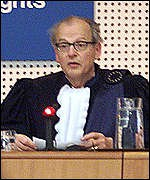Judge Julius Wildhaber of the European Court of Human Rights