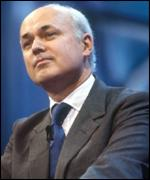 Shadow defence secretary Ianin Duncan Smith