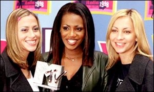 Nicole Appleton, Shaznay Lewis and Natalie Appleton at the MTV Music Awards
