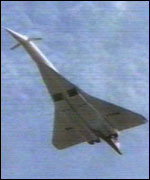Concordski  resembles the Anglo-French Concorde
