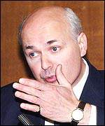 Tory leadership contender Iain Duncan Smith