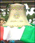 A bell of mourning for territory Hungary lost in 1920