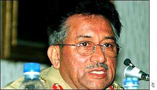 Pakistani leader General Pervez Musharraf