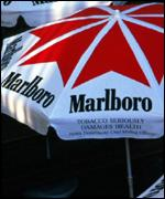 Cigarette advertisisng