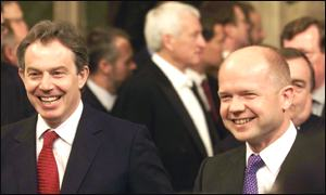 Tony Blair and William Hague