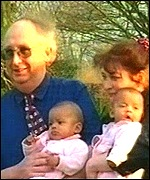 Judith and Alan Kilshaw with twins