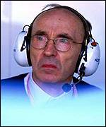 Sir Frank Williams in reflective mood