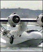 [ image: The vintage Catalina was taking part in a VIP promotion]