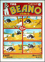 First front cover of Beano