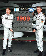 [ image: The dream team: Coulthard and Hakkinen]