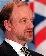 Robin Cook: moved because of pro-euro views?